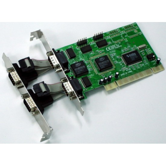 PCI x4 RS232 MOSCHIP