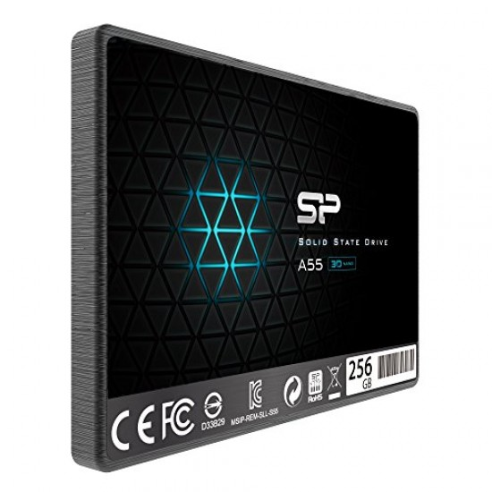 "Solid State Drive (SSD) Silicone Power A55, 256GB, 2,5"", SATA 3"