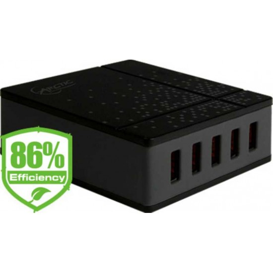 Arctic Smart Charger 8000 - 8.0A / 5 USB